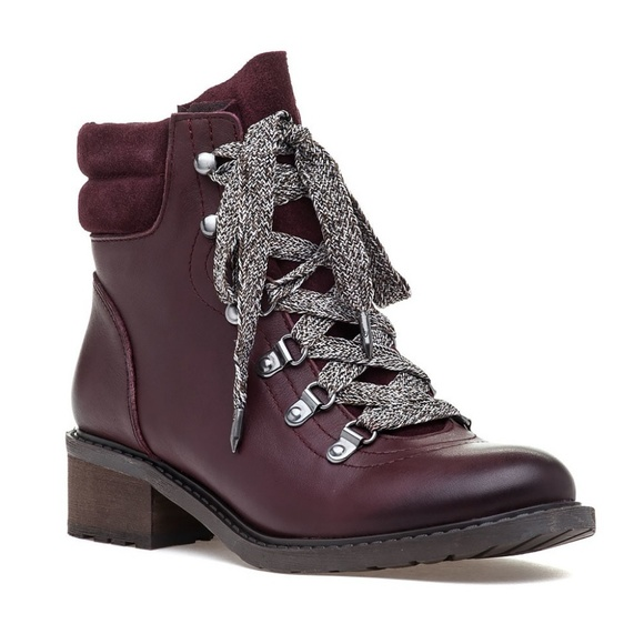 3b369a33297d Sam Edelman Darrah hiker boots red Anthropologie 7.  M 5bb0032daaa5b8f0124037cb